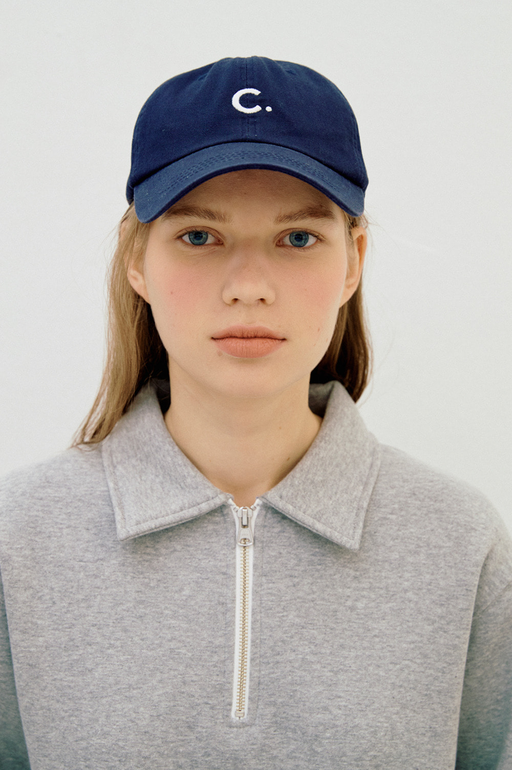 Basic Fit Ball Cap (Navy)